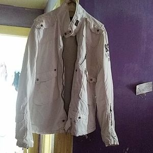 G-Star XXL White Coat